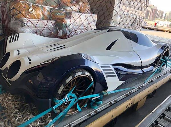 Dünyanın En Hızlı Arabası'nı Turkish Cargo taşıdı!