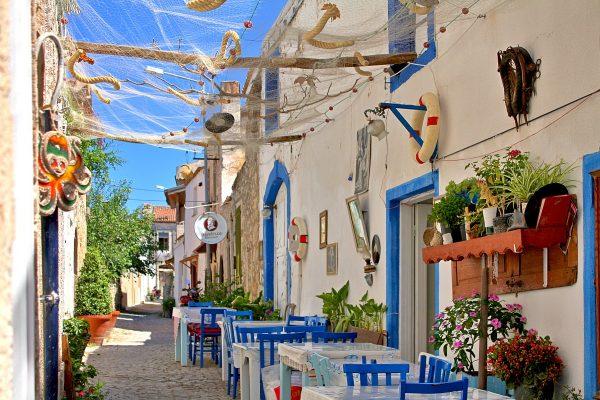 Kos Adası sokakları