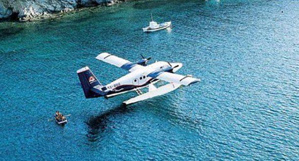 Yunan Adaları'na artık deniz uçağıyla daha kolay!