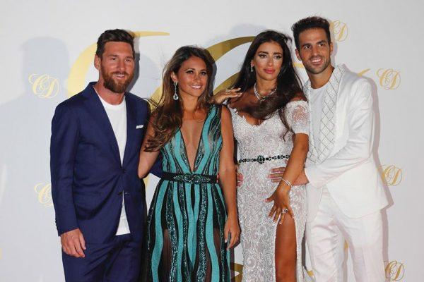 İspanyol Adası İbiza, Fabregas'ın düğününde Messi ve arkadaşlarına ev sahipliği yaptı!
