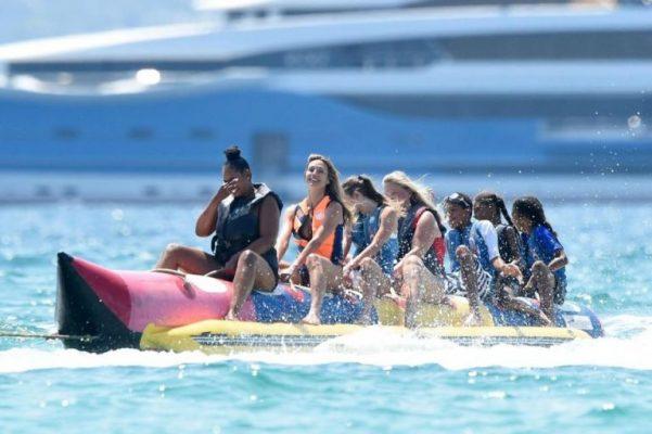 Heidi Klum İtalya Plajlarında
