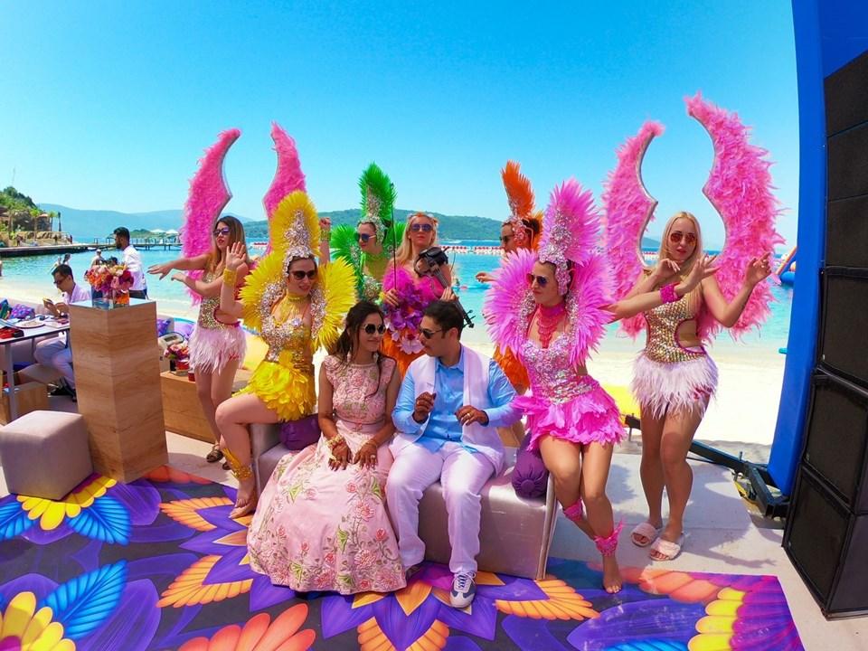 Türkiye yabancı turistlerin düğün cenneti oldu!