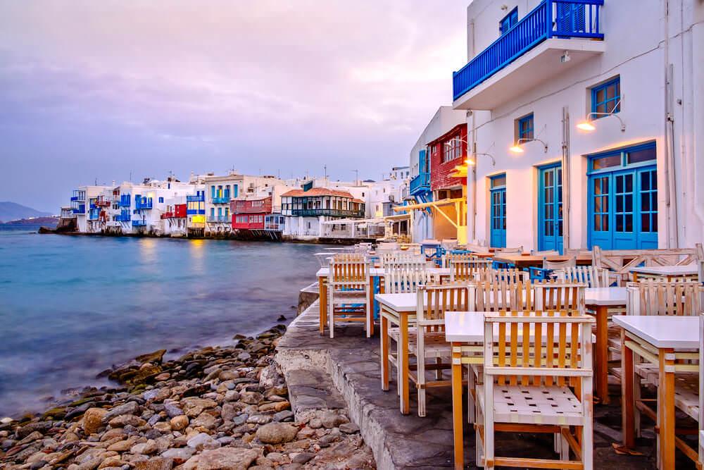 Balayı çiftlerinin en çok gittikleri Yunan adası Mykonos