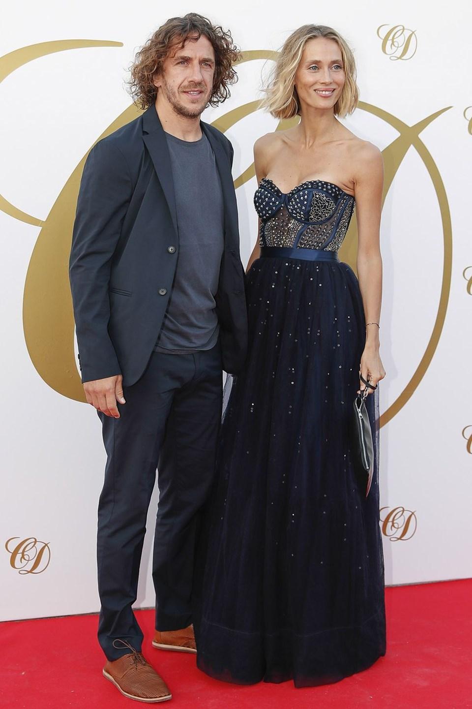 Carles Puyol ve Vanesa Lorenzo