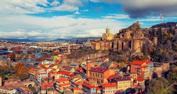 Sakin bir tatil için Tiflis