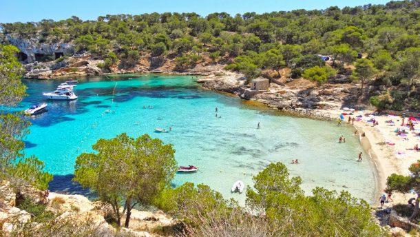 Küçük Nudist plajı: Playa del Mago