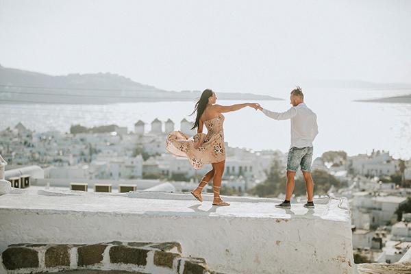 Yunan Adaları'nın 'Küçük Venedik'i Mykonos balayı çiftlerinin gözdesi