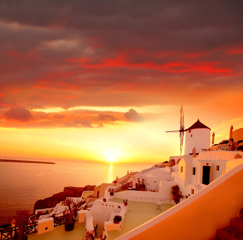 Yunan Adası Santorini yoksa Kayıp Kıta Atlantis mi?