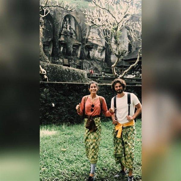 Berrak Tüzünataç ve Birkan Sokullu balayı adası Bali'de aşk tazeliyor!