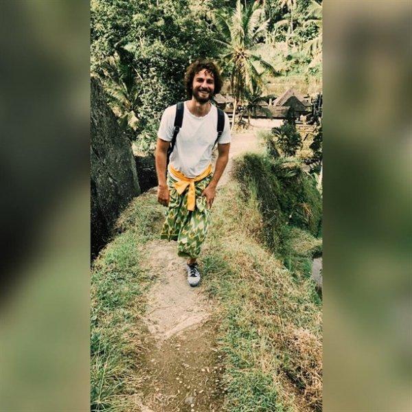 Birkan Sokullu Bali adasında sevgilisi ile tatil yapıyor