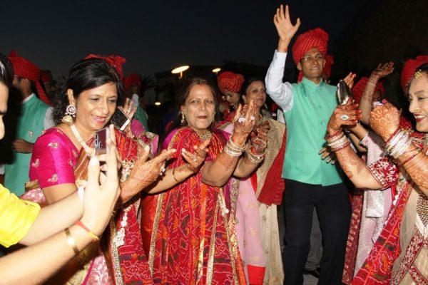 Hint Düğününde konuklar sabaha kadar eğlendi