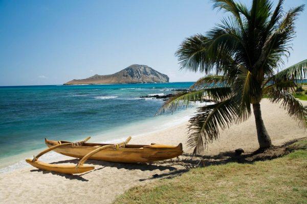 Instagram'a göre Dünyanın en iyi 10 plajı - Lanikai Plajı, Hawaii