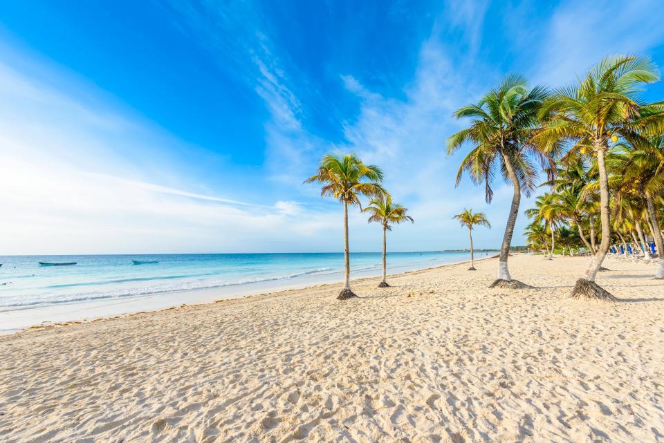 İnstagram'a göre Dünyanın En İyi 10 Plajı Playa Paraiso  Meksika