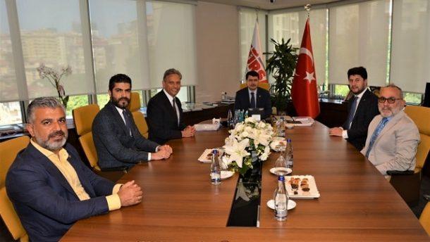 İstanbul Valisi Vasip Şahin'den TÜRSAB'a nezaket ziyareti