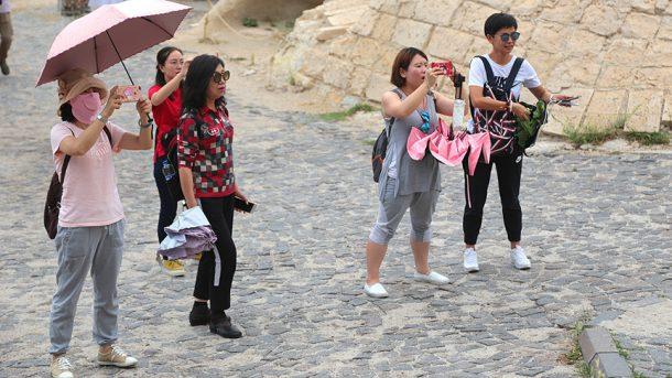 Kapadokya turistleri büyülüyor