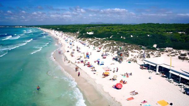 Mallorca'nın Nudist Plajı Es Trenc