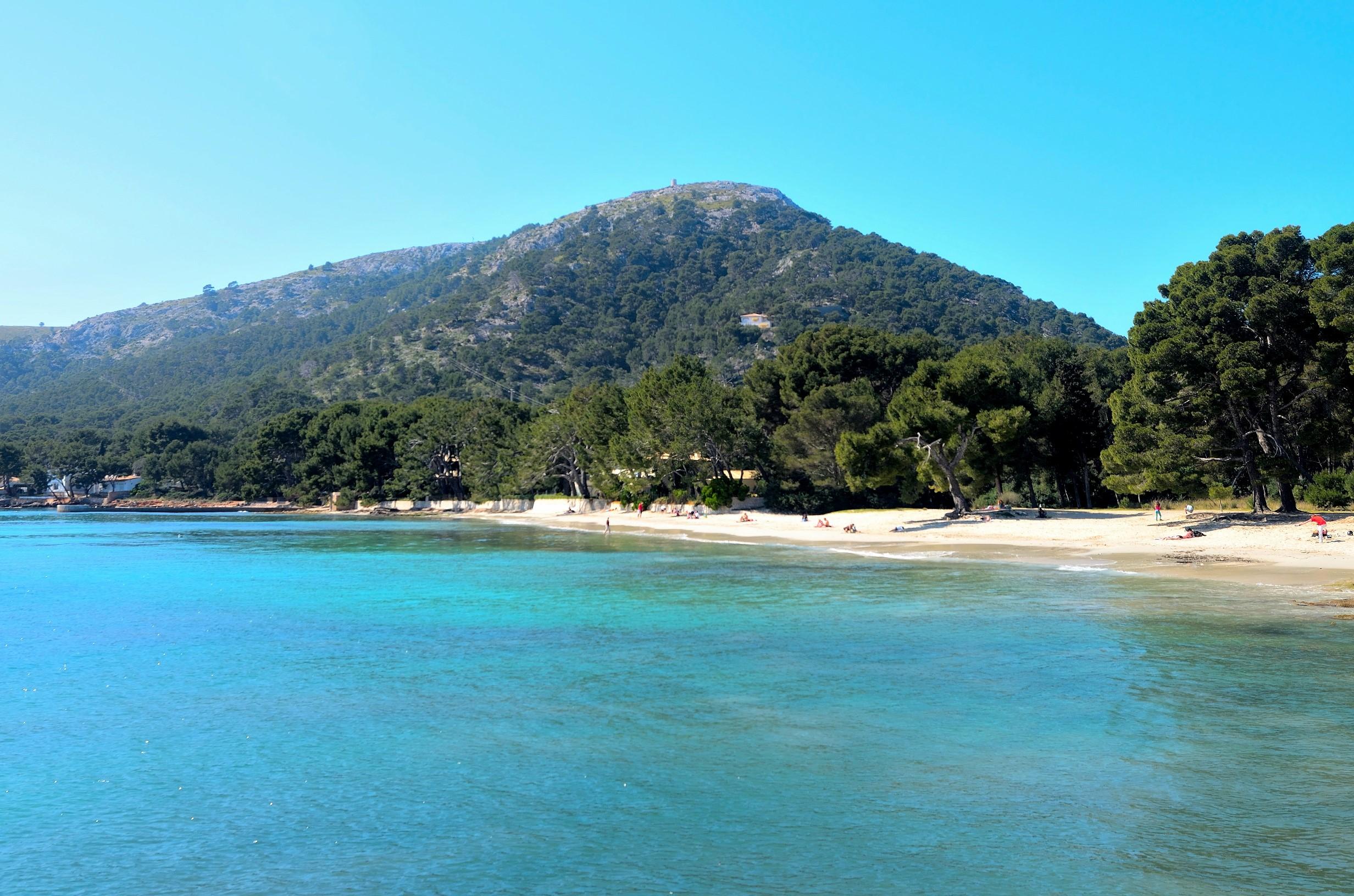 Mallorca'nın en uç noktasındaki plaj: Formentor