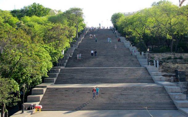 Odessa Potemkin Merdivenleri ile ünlü