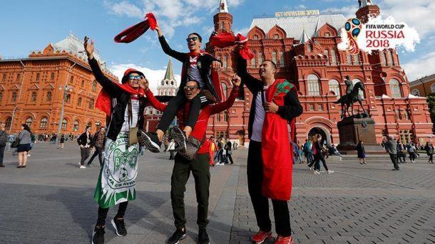 Rusya'daki Dünya Kupası'nda turistler 1.5 milyar dolar bıraktı