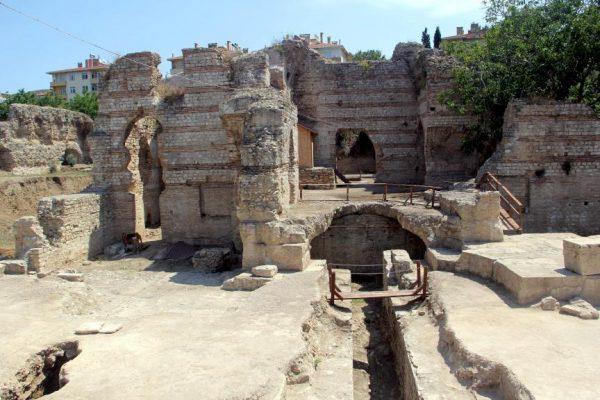 Hamam bölümünün, dönemin zengin Romalıları tarafından eğlence merkezi olarak kullanıldı