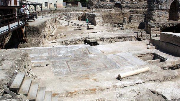 Sinop'taki zengin Romalıların dinlenme merkezi gün yüzüne çıkarılıyor
