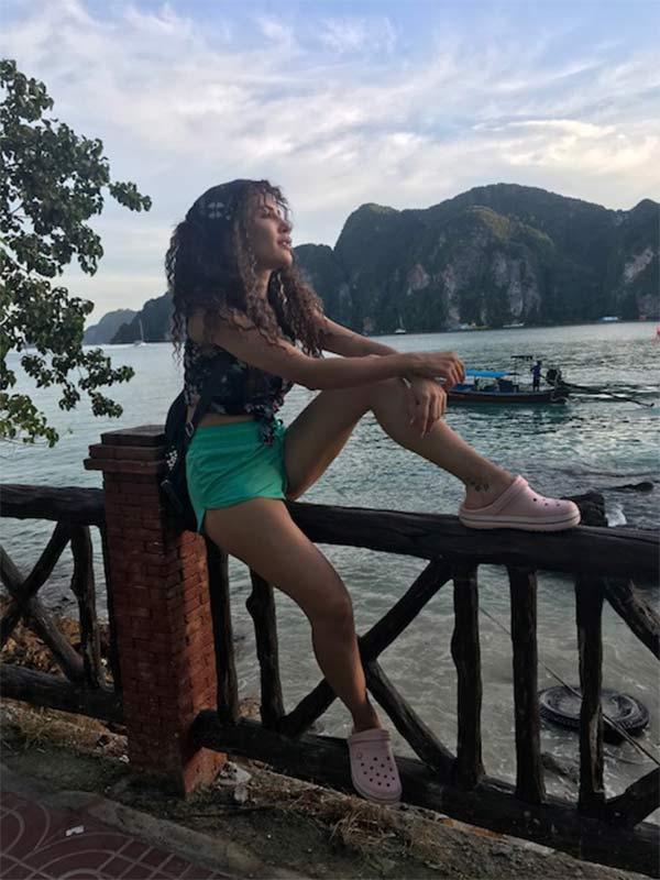 Ece İrtem Taylan Phuket'te tatil yapıyor