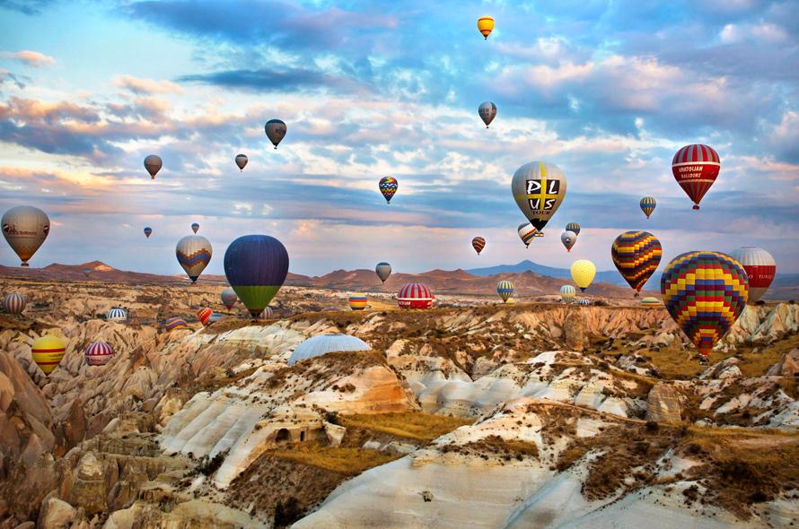 Turistlerin cazibesine hayran oldukları Kapadokya büyülüyor!