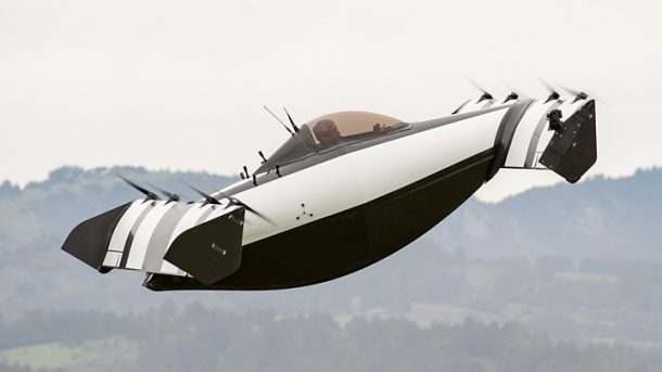 Ehliyetsiz kullanılabilen uçan araba 'BlackFly' tanıtıldı!