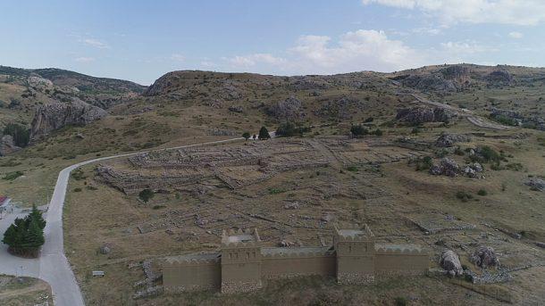UNESCO'nun Dünya Belleği listesindeki Türkiye'nin göz bebeği Hattuşa Antik Kenti