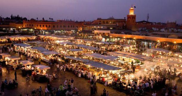Afrika'nın en egzotik kenti Marakeş