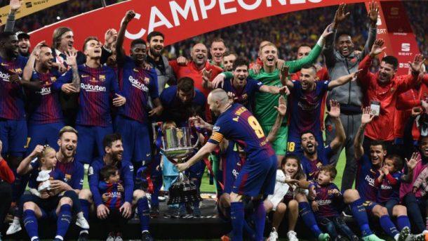 La Liga son şampiyonu Barcelona