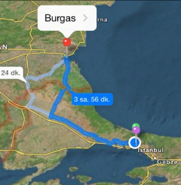 Burgas'a nasıl gidilir?