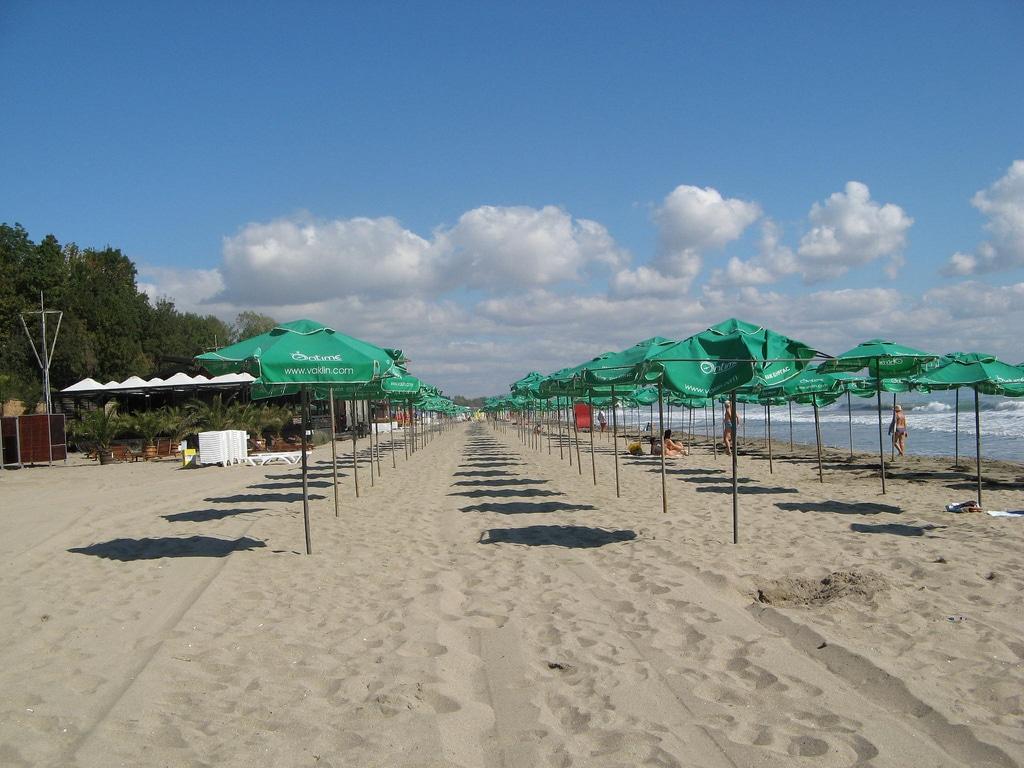 Burgas North Beach kuzey plajı