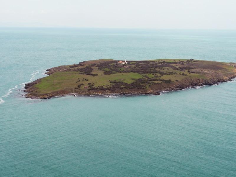 St. Ivan Adası Burgas'ta bulunuyor
