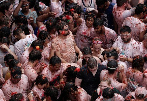 Dünyaca ünlü domates festivali Bunal'da başladı