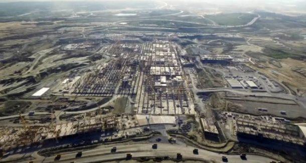 İstanbul'un Yeni Havalimanı'nda sona doğru geliniyor!