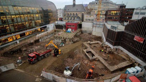 MÖ 2. yüzyıldan kalan 'Almanya'nın en eski Kütüpanesi' Köln'de bulundu