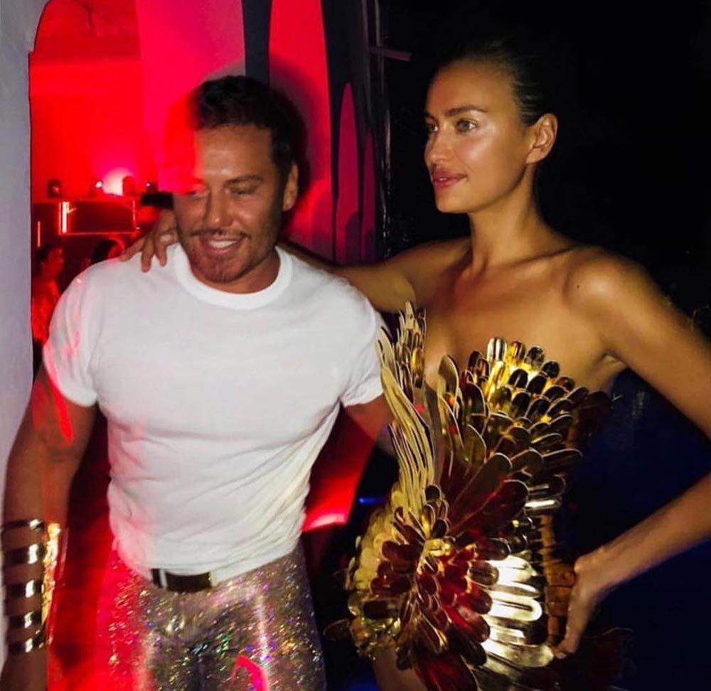 Mert Alaş'ın Ibiza'daki partisine Paris Hilton ve Irina Shayk da katıldı