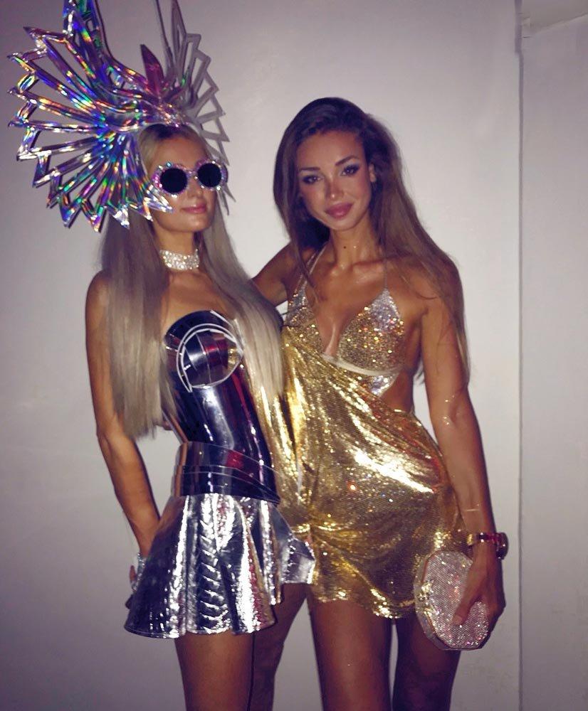 İbiza Adası Mert Alaş partisine Paris Hilton da katıldı