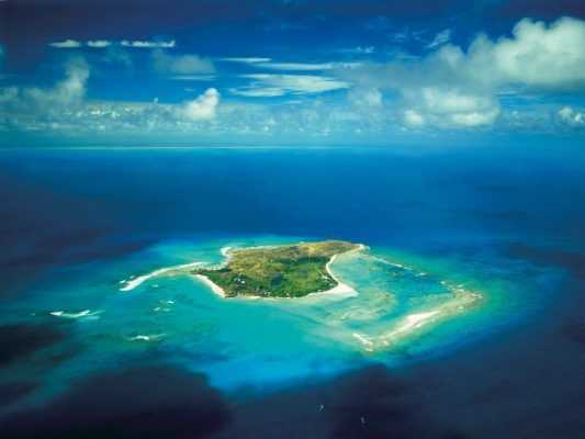 Obama'ların ilk durağı Richard Branson'un Necker Adası