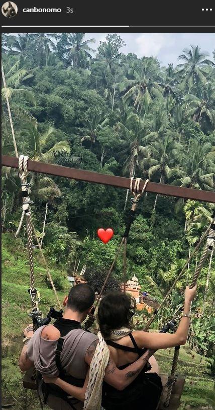 Can Bonomo ve Öykü Karayel'in balayı tatili tercihi Bali Adası oldu