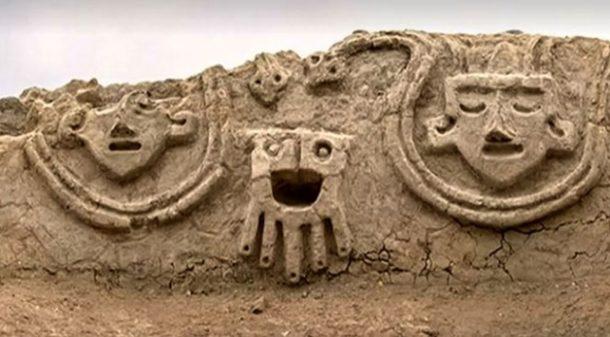 Peru'da Caral uygarlığına ait 3800 yıllık resmi keşfedildi!