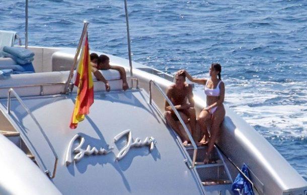 Ronaldo ve sevgilisi İbiza adasında tatil yaptı