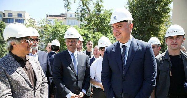 Turizm Bakanı Mehmet Ersoy, AKM inşaatının başlayacağı tarihi açıkladı