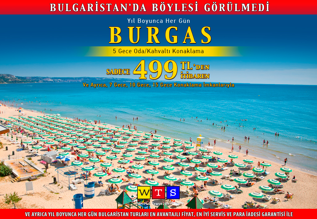 Türk Lirası ile Burgas Turu