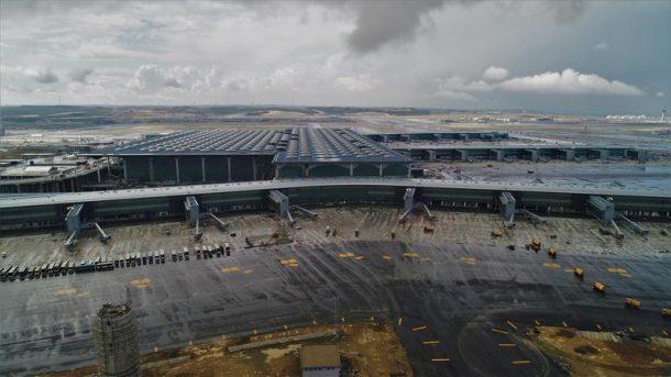 Açılışına 46 gün kalan 3. Havalimanı'nda hummalı çalışma sürüyor!