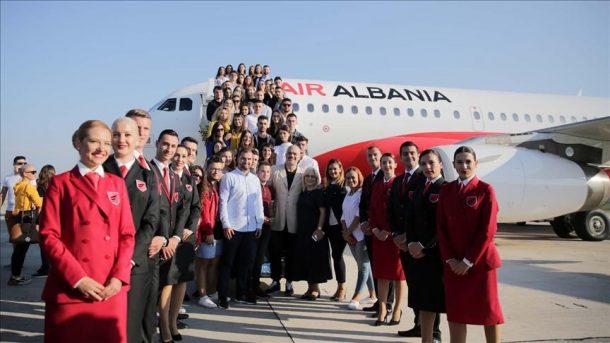 Arnavutluk ilk havayolu şirketi Air Albania ilk uçuşunu İstanbul'a gerçekleştirdi!