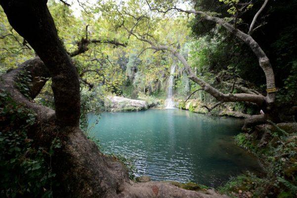 Antalya'nın saklı cenneti Kurşunlu Şelalesi