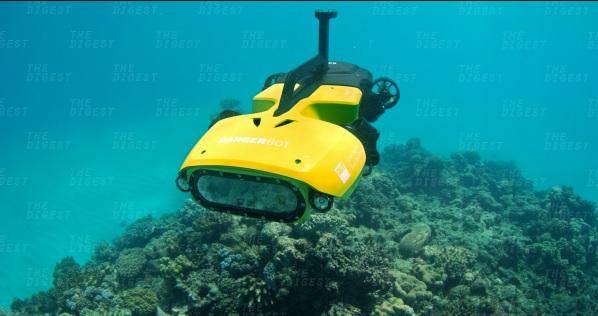 Avustralya'da Büyük Set Resifi 'RangerBot'a