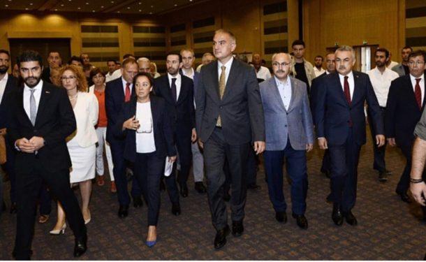 Bakan Ersoy: Bağlıkaya, TÜRSAB'ı sorunlarla devraldı!